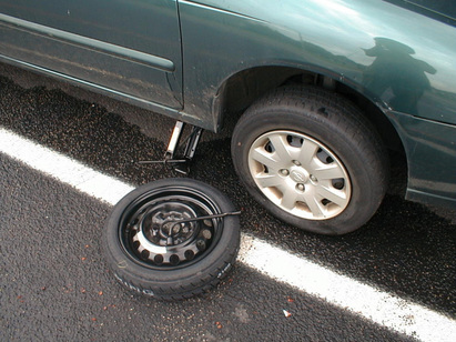 Flat Tire Changing Mobile, AL